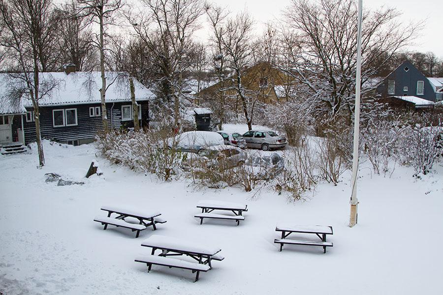 Vintervue Ved Forstanderbolig I Nord